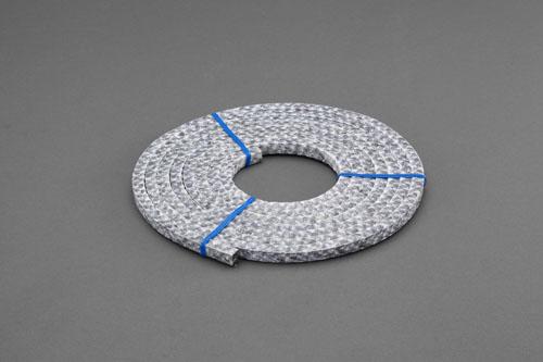 エスコ(ESCO) 14.5x14.5mm/3m グランドパッキン(高温蒸気用) EA351BK-14.5