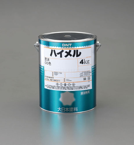 エスコ(ESCO) 4.0kg 油性・多目的塗料(OD色・艶無し) EA942EC-62