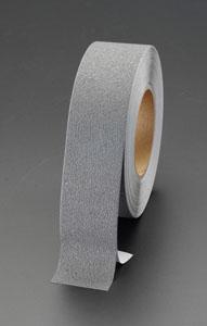 エスコ(ESCO) 100mmx18.3m 滑り止めテープ(屋内用/灰色) EA944DB-37