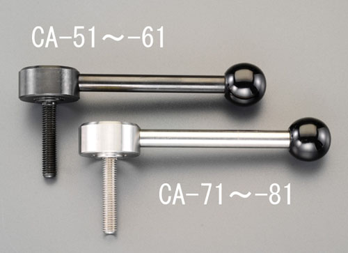 エスコ(ESCO) M10x30mm [ステンレス製]雄ねじフラットテンションレバー EA948CA-74