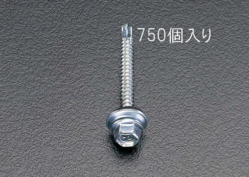 エスコ(ESCO) 5x19mm 六角頭ピアスビス(シール付/750本) EA949EF-51