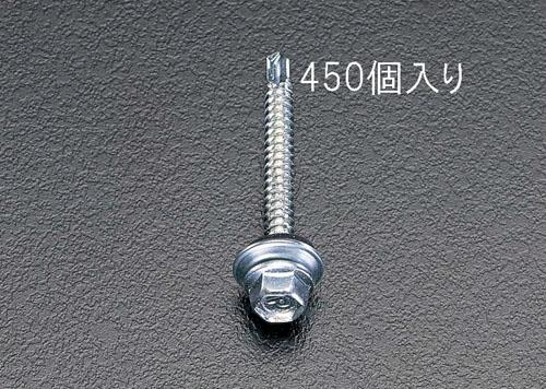 エスコ(ESCO) 5x35mm 六角頭ピアスビス(シール付/450本) EA949EF-53