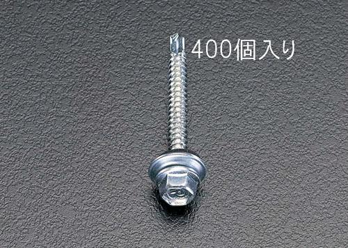 エスコ(ESCO) 6x19mm 六角頭ピアスビス(シール付/400本) EA949EF-61