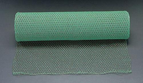 エスコ(ESCO) 0.91x30m/#20/10mm目 亀甲網(鉄ビニール被覆) EA952AC-35