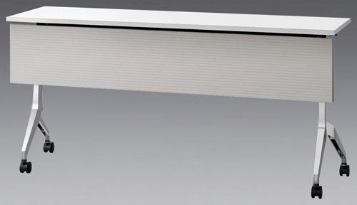 EA954EE-52 エスコ(ESCO) 平行スタックテーブル(幕板付) 1800x450x720mm