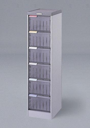 エスコ(ESCO) 300x370x1190mm 引出し式収納ケース(6段) EA954FD-23