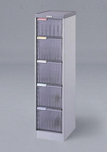 エスコ(ESCO) 300x370x1190mm 引出し式収納ケース(5段) EA954FD-24