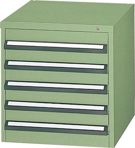 激安通販の EA955AB-1A:工具屋のプロ 580x600x600mm/5段 エスコ(ESCO) ツールキャビネット(中量用) 店-DIY・工具
