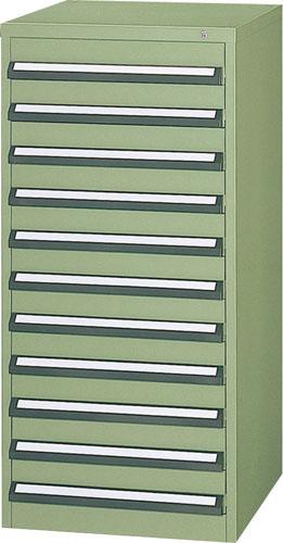 エスコ(ESCO) 580x600x1200mm/11段 ツールキャビネット(中量用) EA955AB-8