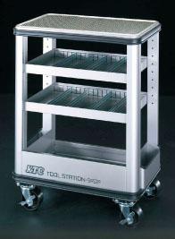 エスコ(ESCO) 670x420x900mm/4段 ツールキャビネット EA956AB-1