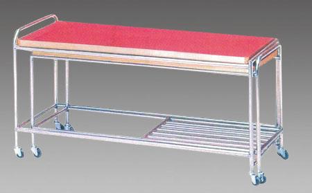 エスコ(ESCO) 1120-2100x450x670mm ワークテーブル(格納型) EA956FH-2