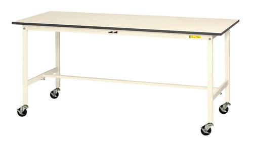 エスコ(ESCO) 1500x600x826mm/150kg ワークテーブル(キャスター付) EA956TC-5