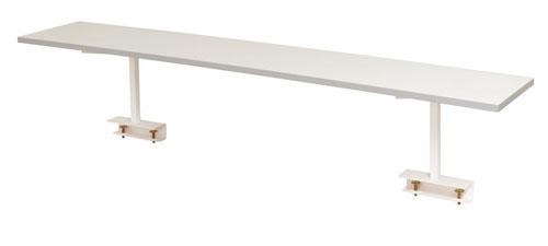 エスコ(ESCO) 1200x300x360mm ワークテーブル用架台 EA956TX-2