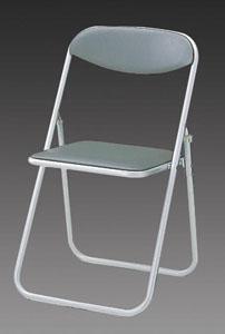 エスコ(ESCO) 折畳み椅子(グレー) EA956XE-1