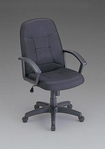 エスコ(ESCO) ビジネスチェアー(ブラック) EA956XL-15
