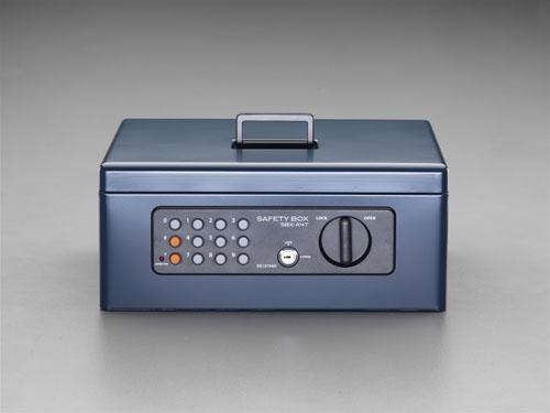 エスコ(ESCO) 360x255x155mm 手提げ金庫 EA961KA-44