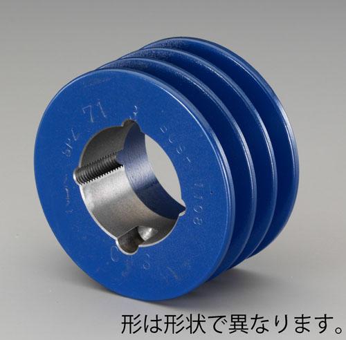 エスコ(ESCO) 180mm [3本構]Vプーリー(B) EA968A-151