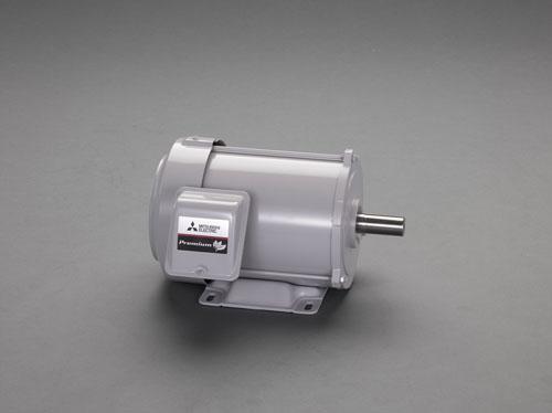 エスコ(ESCO) AC200V・0.75KW 三相モーター(全閉外扇・屋内形) EA968BA-7A