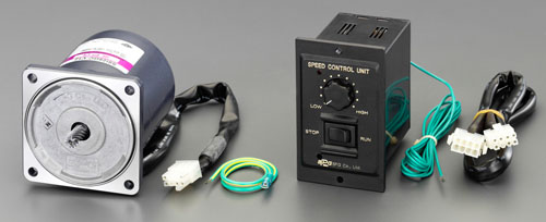 エスコ(ESCO) AC200V・60W スピードコントロールモーター EA968CH-60