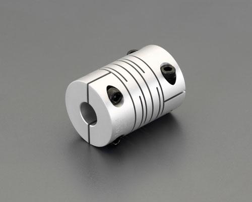 エスコ(ESCO) 8x10mm/40mm フレキシブルカップリング(クランピング) EA969BF-2