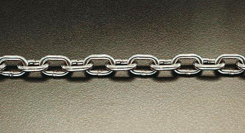 ブランド品専門の 9.5mmx1.8m EA980SG-30:工具屋のプロ エスコ(ESCO) 店 マリーンチェーン(ステンレス製)-DIY・工具