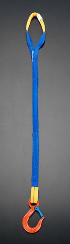 エスコ(ESCO) 1.5tonx1.0m 金具付スリング(1本懸け) EA981EC-1A