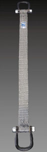 エスコ(ESCO) 1.8tonx2m ベルトスリング(スチール製) EA981KH-2
