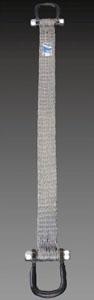 エスコ(ESCO) 1.8tonx5m ベルトスリング(スチール製) EA981KH-5