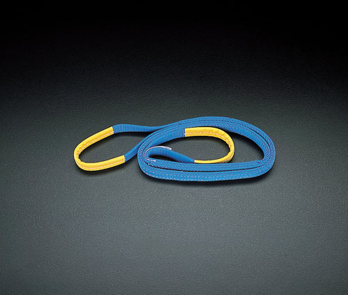 エスコ(ESCO) 75mmx6.0m/2.5ton ベルトスリング(ポリエステル) EA981TC-6