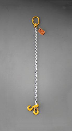 エスコ(ESCO) 2.5tonx3.0m スリングチェーン(1本懸け) EA981VC-13A