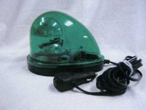 エスコ(ESCO) DC12V/24V 自動車用LED回転灯(緑色) EA983FS-54A