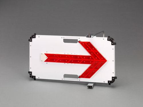 エスコ(ESCO) 78x432x787mmLED方向指示灯(赤) EA983FT-71A