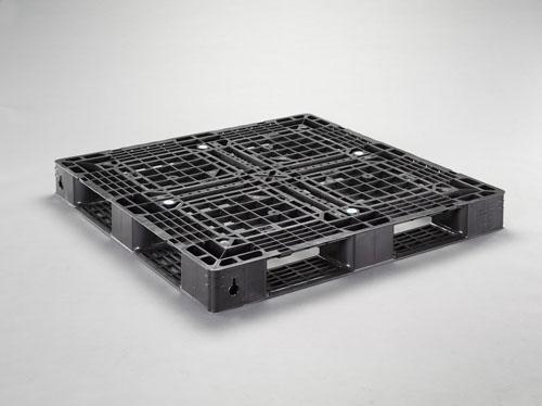 エスコ(ESCO) 1100x1100x120mm パレット・PP製(2枚) EA985P-2