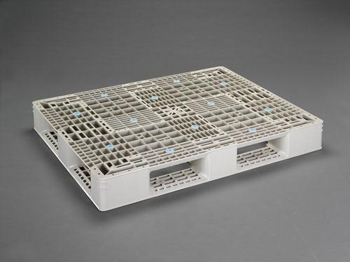 エスコ(ESCO) 1000x1200x150mm/パレット・PP製(2枚) EA985P-6