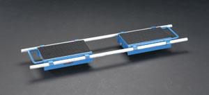 エスコ(ESCO) 12.0ton トランスポートローラー(伸縮式) EA986DB-52