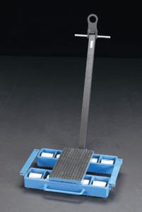 エスコ(ESCO) 12.0ton トランスポートローラー(ハンドル付) EA986DB-58