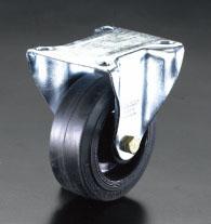 エスコ(ESCO) 200mm キャスター(固定金具) EA986HX-200