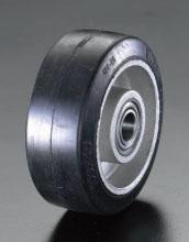 エスコ(ESCO) 180x50mm 車輪(ラバータイヤ・アルミホイール) EA986M-180