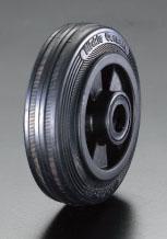 エスコ(ESCO) 345x75mm 車輪(ラバータイヤ・PPリム・ローラーベアリング) EA986MC-11