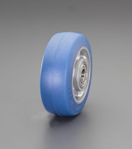 エスコ(ESCO) 250x50mm 車輪(ポリウレタンタイヤ・アルミリム) EA986MN-5