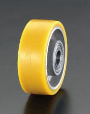 エスコ(ESCO) 250x60mm 車輪(ポリウレタンタイヤ・アルミリム・ベアリング) EA986MP-250