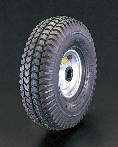 エスコ(ESCO) 260x85mm 車輪(空気入・スチールリム・ベアリング) EA986MW-261