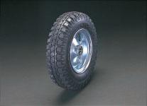 エスコ(ESCO) 300x100mm 車輪(空気入・スチールリム・ベアリング) EA986MX-310