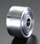 エスコ(ESCO) 200x55mm 車輪(ボールベアリング・ソリッドスチール製) EA986SC-200