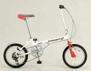 エスコ(ESCO) 16インチ 折畳み式自転車 EA986Y-12A