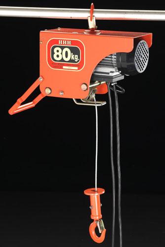 エスコ(ESCO) AC100V/80kgx10m 電気ホイスト EA987DB-1