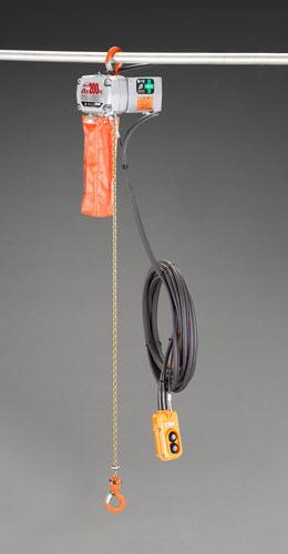 エスコ(ESCO) AC100V/200kgx12m 電動チェーンブロック EA987DD-8