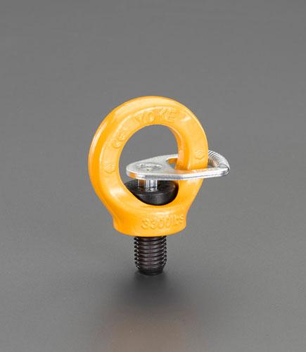 エスコ(ESCO) 3.2ton/M24x36mm 回転アイボルト(キー付) EA987GL-45
