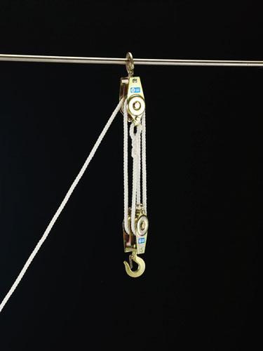 エスコ(ESCO) 250kgx3.0m ロープホイスト EA988AL-3