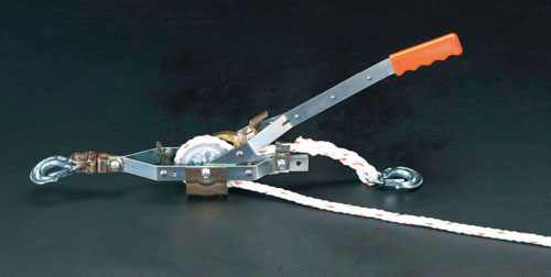 エスコ(ESCO) 0.68ton/15m ローププーラー EA988ME-15